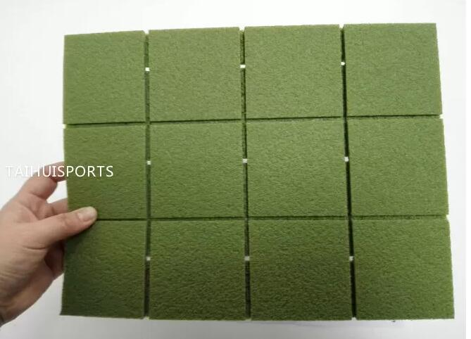 Playground Artificial Turf Crosslinked Foam Sheets Environmental Baseball Pad of 10-30 mm