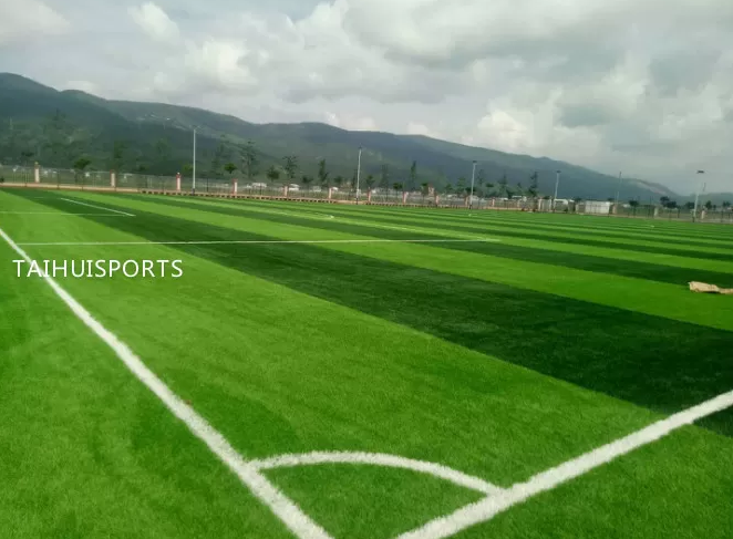 Double-Sided Grooved Outdoor High Elasticity Rubber Synthetic Artificial Grass Underlay For Football