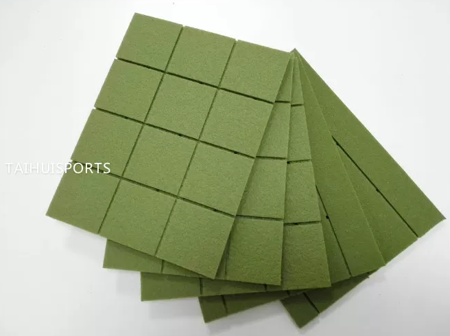 Double-Sided Grooved Artificial Turf/Grass Shock Pads Underlay Recycling High 10-30 mm thickness Lon
