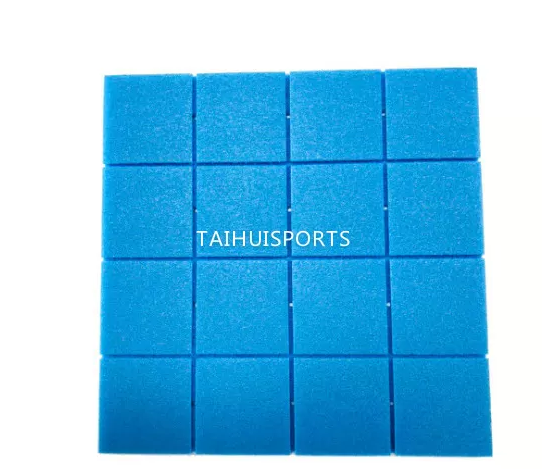 Two Sides Grooved Water Proof PE Foam Light Weight Baseball Football Artificial Grass Underlay High