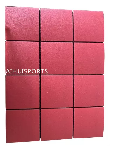 PE Foam 3 Composite Layer Crosslinked Football Shock Pads / Artificial Turf Padding Fire Resistant Water Proof