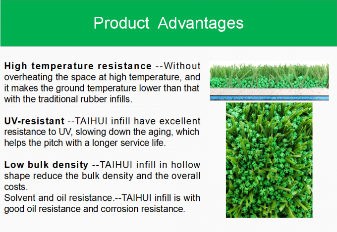 Economical TPE Rubber Infill For Artificial Turf Low Applied Amount Odorless Anti-Static Long Lifespan 3