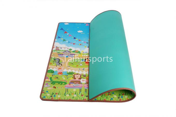 Single Sided Eco Eva Foam Play Mats , Anti Bacterial Cushioned Play Mat 1