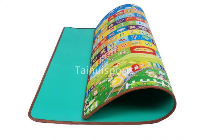 Single Sided Eco Eva Foam Play Mats , Anti Bacterial Cushioned Play Mat 0
